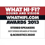 What Hi-Fi? Sound and Vision Awards 2013