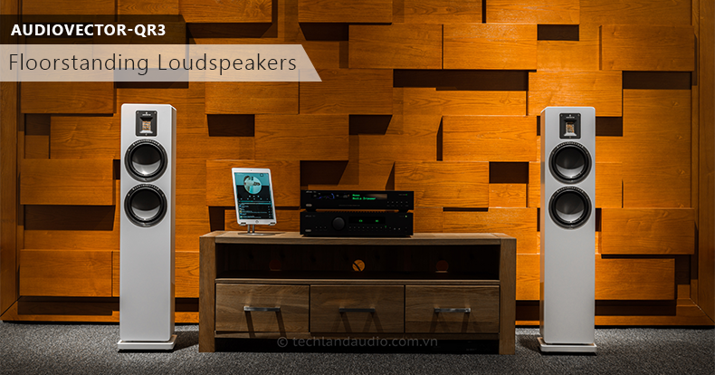 techland audiovector qr3 floorstanding speakers