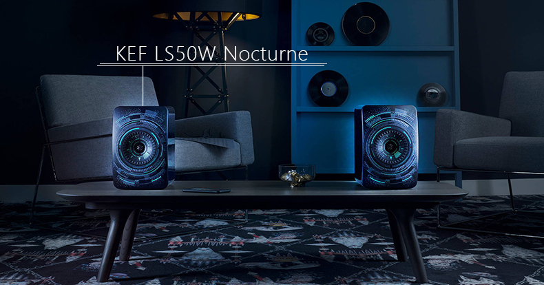 techland kef ls50w nocturne wireless speakers
