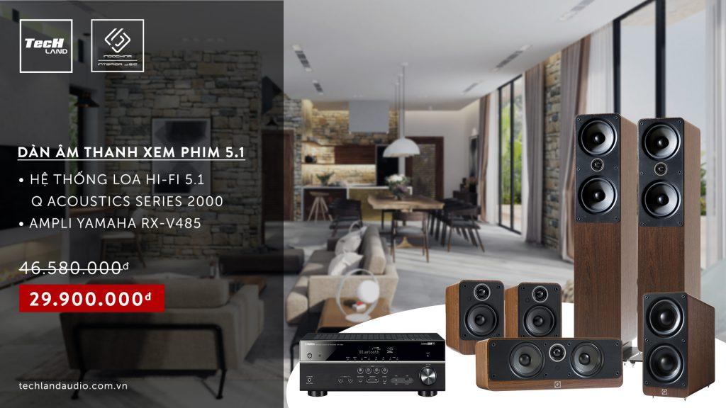 khuyến mại Q Acoustics 1